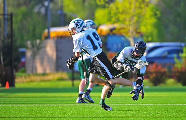 best lacrosse arm pads for middie