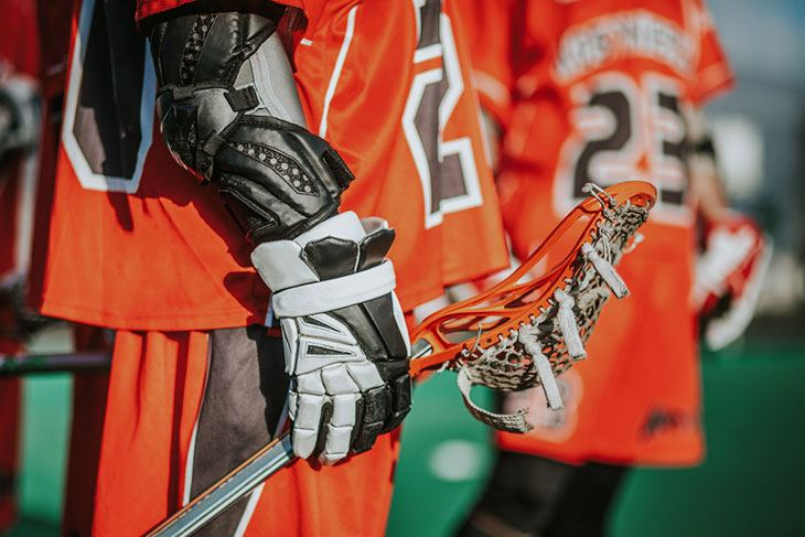 best lacrosse elbow pads for attack