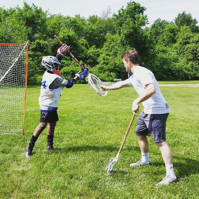 lacrosse goalie training equipment